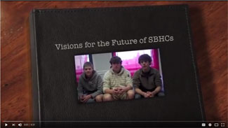 Visions for the future of SBHCs three teen boys